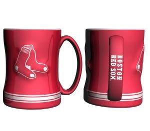 Boston Red Sox Mlb Baseball Alternate Red 14 Oz. Relief Coffee Mug