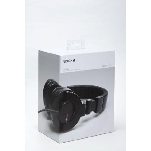NIXON HEADPHONES: RPM/ BLACK/GOLD NH019010-00の写真02。おしゃれなヘッドホンをおすすめ-HEADMAN(ヘッドマン)-