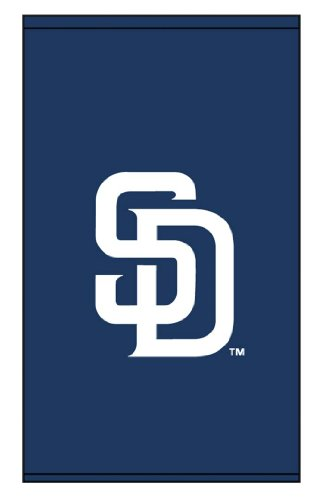 Roller Shades MLB San Diego Padres Cap Log 1 - Blue Background 0572_0003