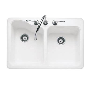 Hot Deals American Standard 7145 001 Silhouette Single Hole Double