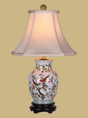 Song Birds Porcelain Vase Lamp Table Lamps Amazon Com