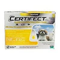 Certifect for Dogs 5-22 lbs 3 month supply