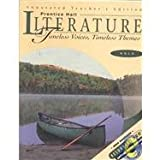 img - for Annotated Teacher's Edition: Prentice Hall Literature: Timeless Voices, Timeless Themes: Gold by Jacobs Henry E. Lederer Sorensen (1999-01-01) Hardcover book / textbook / text book