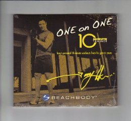 One - on - One: 10 Minute Trainer DVD programme: Tony Horton's Personal 10-Minute Workouts Form His Gym To Yours