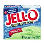 JELL-O SUGAR FREE PISTACHIO REDUCED C...
