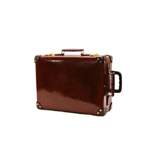 """(グローブトロッター) GLOBE TROTTER スーツケース ORIENT18インチ"""" TROLLEY CASE URUSHI GTURUSHI 18TC URUSHI/BURGUNDY [並行輸入品]"""