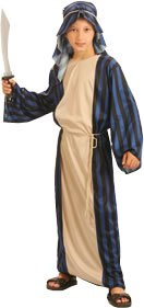 Just For Fun Arab Sheik Fancy Dress Costume (Child Size) - Small