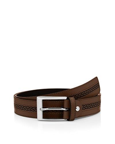 E4 Cintura Pelle 14465 [Marrone]