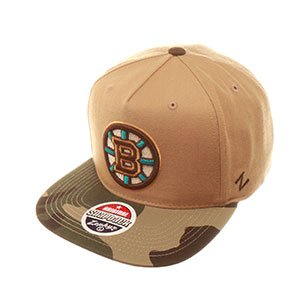 NHL Boston Bruins Zephyr Snapback Hat Cap Zuni Camo Brim at Amazon.com