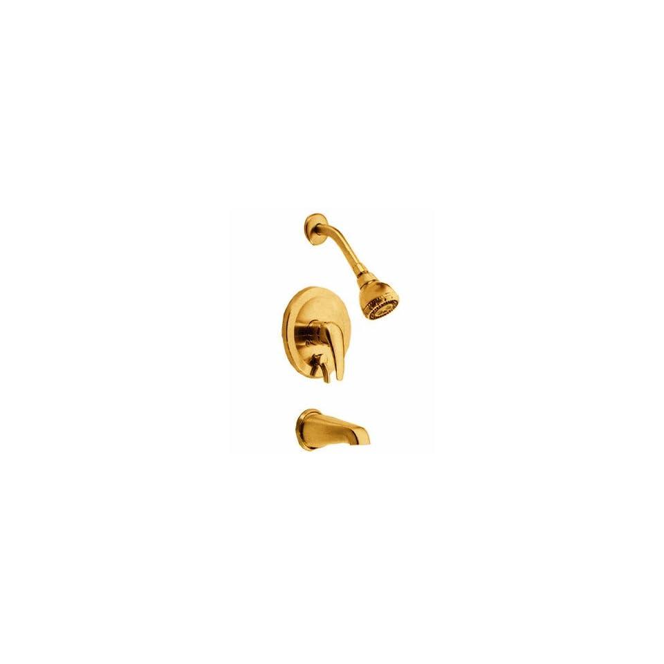 Danze 500013 BP Polished Brass Single Handle Tub & Shower Faucet