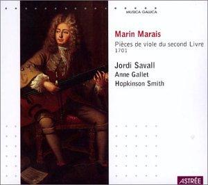 Marin Marais: Pièces de viole du second Livre, 1701