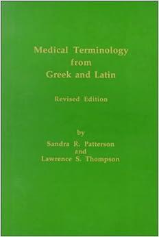 buy greek medical terminology dictionary