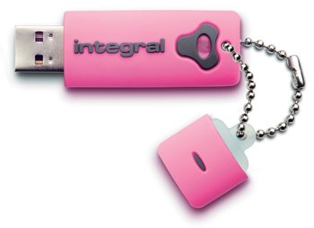 Integral USB Splash Drive 2Gb Pink