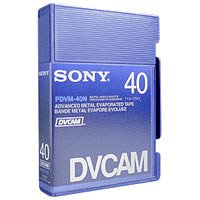 Sony PDVM40N Mini DV-Cam Video Tape for Professional CamcordersB00007E8BM : image