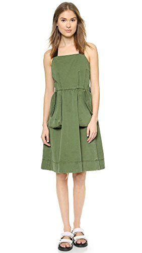 Marc By Marc Jacobs Women'S Classic Cotton Dress, New Fatigue Green, 0