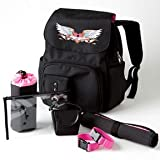 Black Trendy Designer Baby Backpack Diaper Bag &#8211; Great Congratulations or Shower Gift Idea for New Moms Reviews