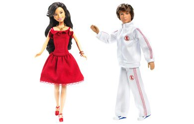 Buy Low Price Mattel High School Musical 2 Dolls Gift Set – Troy and Gabriella Figure (B0016206S2)