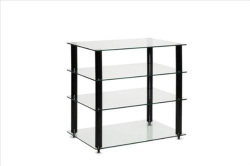 Lite transparente 4 estante con función de atril de alta fidelidad 600 x 400