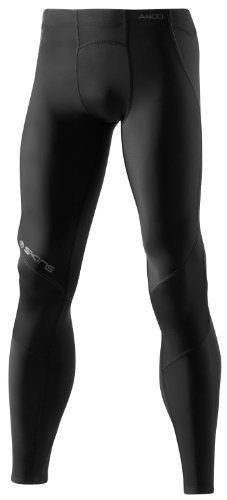 Skins A400 Mens Compression Long Tights Graphite/Black - size M