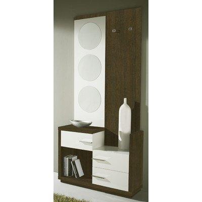 Garderoben-Set Farbe: Natur / Weiß