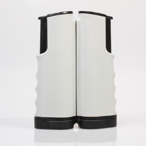 Lixada Kit Portable retrattile Rack di ricambio telescopico ping-pong Rete Ping Pong per gli appassionati di tennis da tavolo (Grigio)