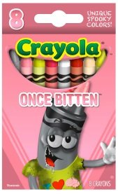 Crayola Limited Edition Halloween Crayons: Once Bitten [PINK] - 1