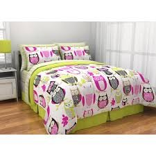 Full Size Owl Bedding 8214 front