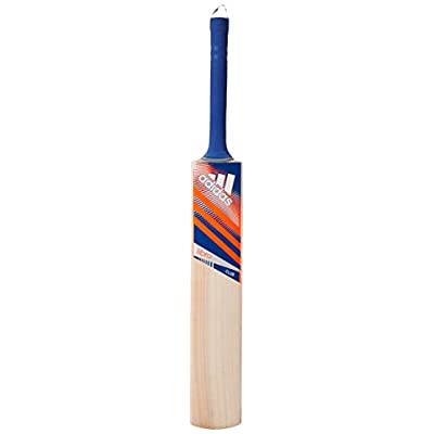 adidas AB7250 Libro club Kashmir Willow Cricket Bat,short handle(Royal blue/Solar Red/White)