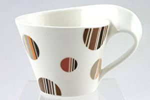 Villeroy & Boch New Wave Caffe Cappuccino Cup CHOCOLATE DROPS