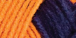 Bulk Buy: Red Heart Team Spirit Yarn (3-Pack) Orange/Navy E797-960