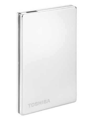 Toshiba PA4238E-1HG5 STOR.E ALU 2S 2.5 inch External Hard Drive 750GB - Silver