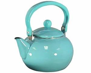 Calypso Basics, 2 Quart Teakettle, Turquoise by Calypso Basics