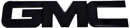 All Sales 96502K Billet Tailgate / Liftgate Emblem - Black Powdercoat (Gmc Grill Emblem compare prices)