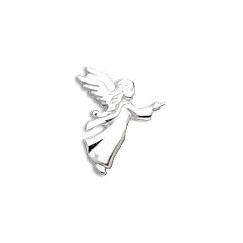 Sterling Silver Small Angel Lapel Pin