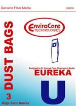 Eureka U Vacuum Bags front-27030
