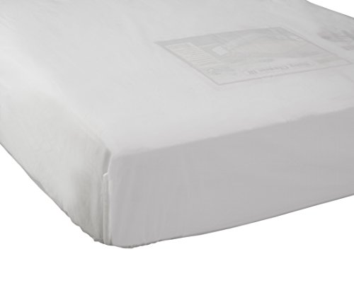Abstract Fitted Plastic Mattress Cover for Portable Crib (24x38)