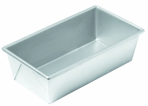 Chicago Metallic Commercial II Traditional Uncoated 1-Pound Loaf Pan (Bread Pan Commercial compare prices)