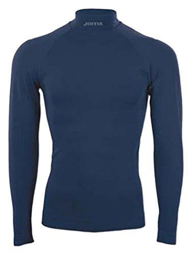 Joma Brama Classic - Maglia termica a manica lunga da bambino, colore blu navy.  Taglia 8-10 anni