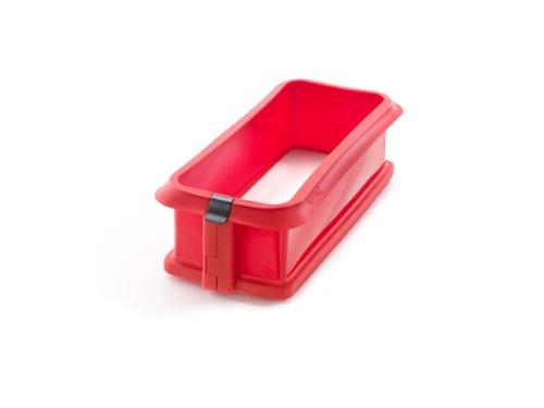lekue-duo-molde-rectangular-desmontable-24-cm-plato-ceramica-color-rojo