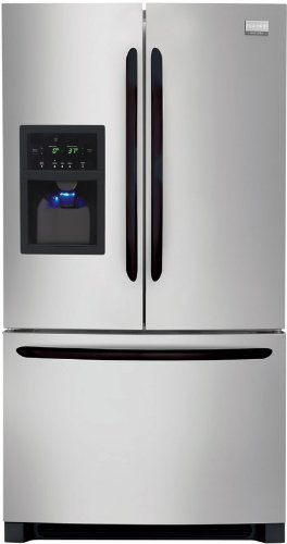 Frigidaire Stainless Look Bottom Freezer Freestanding Refrigerator FGHB2844LM