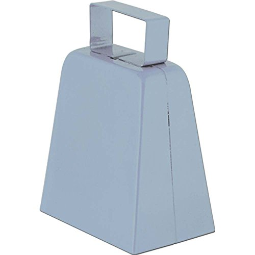 Silver Cowbell Noisemaker - 1