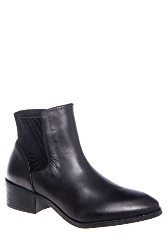 Melancholy Ankle Low Heel Bootie