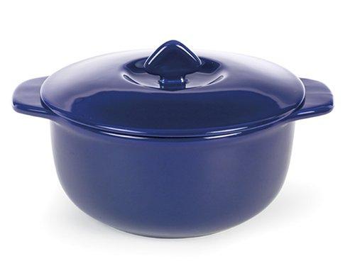 Chantal 2-1/2 Quart Round Covered Casserole, Glossy Cobalt Blue. - Buy Chantal 2-1/2 Quart Round Covered Casserole, Glossy Cobalt Blue. - Purchase Chantal 2-1/2 Quart Round Covered Casserole, Glossy Cobalt Blue. (Chantal, Home & Garden, Categories, Kitchen & Dining, Cookware & Baking, Baking, Bakers & Casseroles)