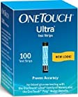 11340184 OneTouch Ultra Blue Strips 100 Per Box sold as Box Pt# 2289501 by Lifescan