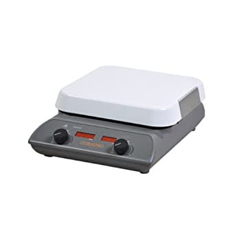 Corning Hot Plate With Digital Display, Pyroceram Top, 5 to 550 Degree C, 100V/60Hz