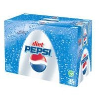 Diet Pepsi Cola - 36/12 oz. cans