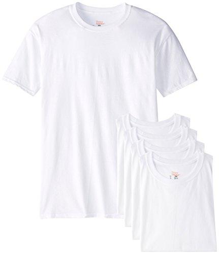 Hanes Men's Best Crew T-Shirt, White, X-Large