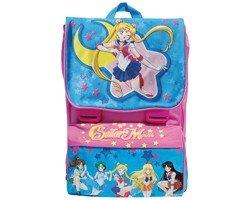 Zaino Scuola Estensibile Medium Asilo Sailor Moon 85279 cm 28x38x11 (+8)