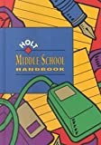 Holt Middle School Handbook (0030946379) by John E. Warriner