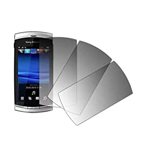 Premium Crystal Clear Screen Protector for Sony Ericsson Vivaz U5i [Accessory Export Brand Packaging]: Cell Phones & Accessories